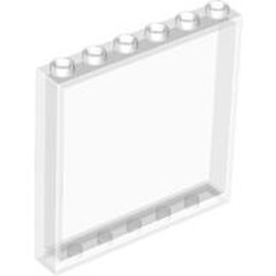 Trans-Clear Panel 1 x 6 x 5 - new