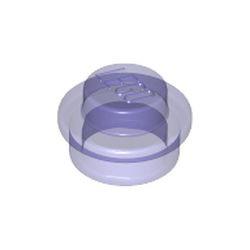 Trans-Purple Plate, Round 1 x 1