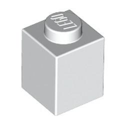 White Brick 1 x 1 - used
