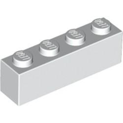 White Brick 1 x 4