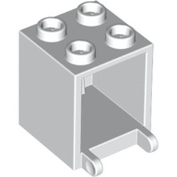 White Container, Box 2 x 2 x 2