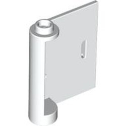 White Door 1 x 3 x 3 Right - Open Between Top and Bottom Hinge - used