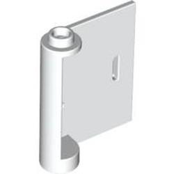 White Door 1 x 3 x 3 Right - Open Between Top and Bottom Hinge