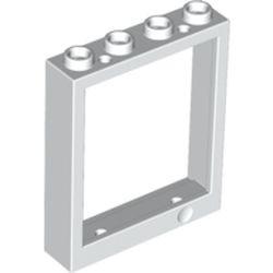 White Door, Frame 1 x 4 x 4 Lift