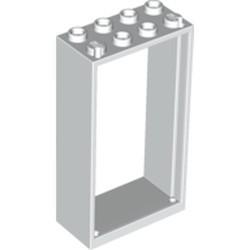 White Door, Frame 2 x 4 x 6