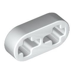 White Technic, Liftarm Thin 1 x 2 - Axle Holes