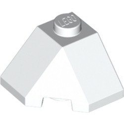 White Wedge 2 x 2 (Slope 45 Corner) - new