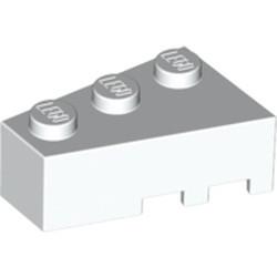 White Wedge 3 x 2 Left - used