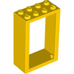 Yellow Door, Frame 2 x 4 x 5