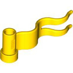 Yellow Flag 4 x 1 Wave Right - new