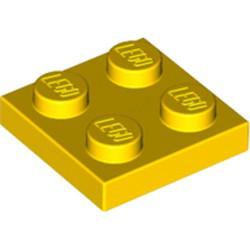 Yellow Plate 2 x 2