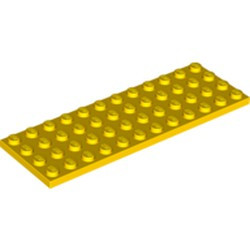 Yellow Plate 4 x 12 - used