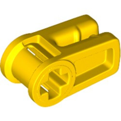 Yellow Technic, Axle and Wire Connector - new