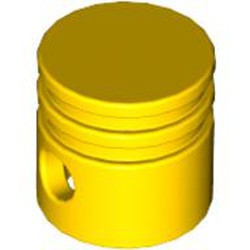 Yellow Technic, Engine Piston Round - new
