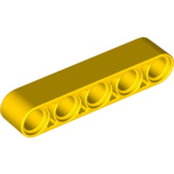 Yellow Technic, Liftarm Thick 1 x 5