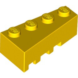 Yellow Wedge 4 x 2 Right