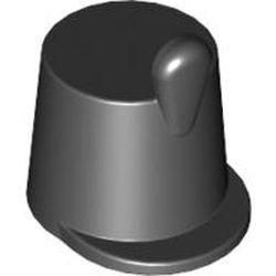 Black Minifigure, Headgear Hat, Imperial Guard Shako