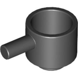Black Minifigure, Utensil Saucepan - new