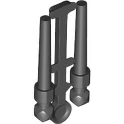 Black Minifigure, Utensil Wand, 2 on Sprue