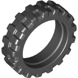 Black Tire 21mm D. x 6mm City Motorcycle