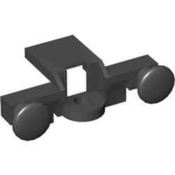 Black Train Buffer Beam - used