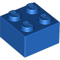 Blue Brick 2 x 2