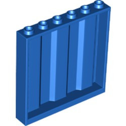 Blue Panel 1 x 6 x 5 Corrugated - used