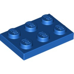 Blue Plate 2 x 3 - new
