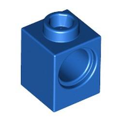Blue Technic, Brick 1 x 1 with Hole