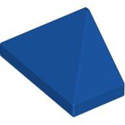 Blue-Violet Slope 45 2 x 1 Triple with Inside Bar - used
