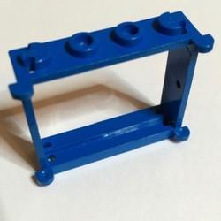 Blue Window 1 x 4 x 3 - used
