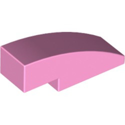 Bright Pink Slope, Curved 3 x 1 - new
