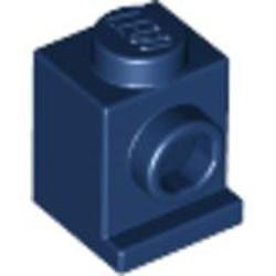 Dark Blue Brick, Modified 1 x 1 with Headlight - used