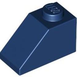 Dark Blue Slope 45 2 x 1 - new