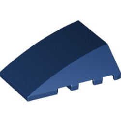Dark Blue Wedge 4 x 4 No Studs - used
