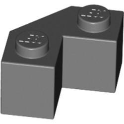 Dark Bluish Gray Brick, Modified Facet 2 x 2