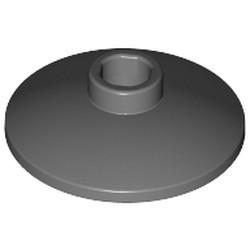 Dark Bluish Gray Dish 2 x 2 Inverted (Radar) - new