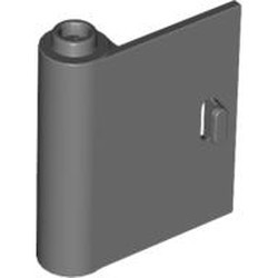 Dark Bluish Gray Door 1 x 3 x 3 Left - Open Between Top and Bottom Hinge - used