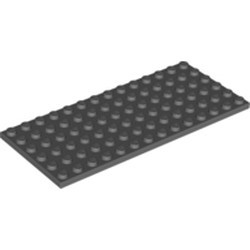 Dark Bluish Gray Plate 6 x 14