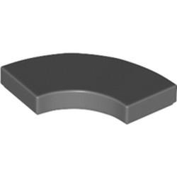 Dark Bluish Gray Tile, Round Corner 2 x 2 Macaroni - new