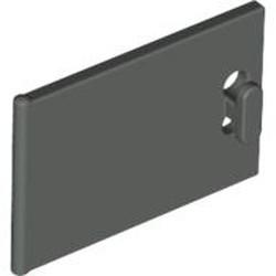 Dark Gray Container, Cupboard 2 x 3 x 2 Door - used