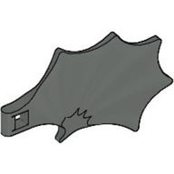 Dark Gray Dragon Wing