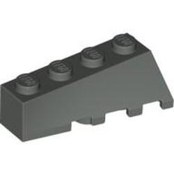 Dark Gray Wedge 4 x 2 Sloped Left