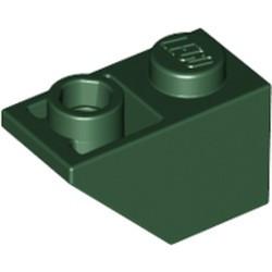 Dark Green Slope, Inverted 45 2 x 1