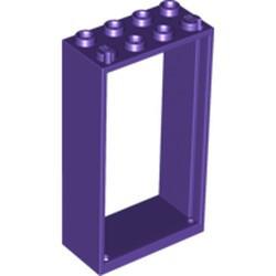 Dark Purple Door, Frame 2 x 4 x 6