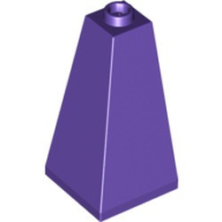 Dark Purple Slope 75 2 x 2 x 3 Double Convex - used