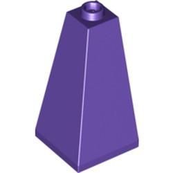Dark Purple Slope 75 2 x 2 x 3 Double Convex