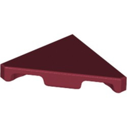 Dark Red Tile, Modified 2 x 2 Triangular - new
