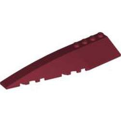 Dark Red Wedge 12 x 3 Left - used