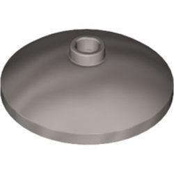 Flat Silver Dish 3 x 3 Inverted (Radar)